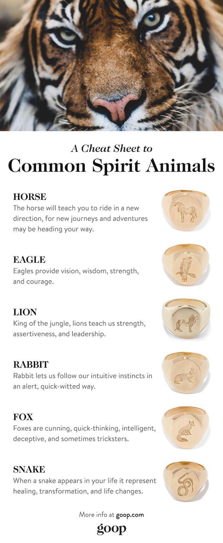 Spirit Animals What Is My Spirit Animal Goop Spirit Animal Animal Spirit Guides Whats Your Spirit Animal