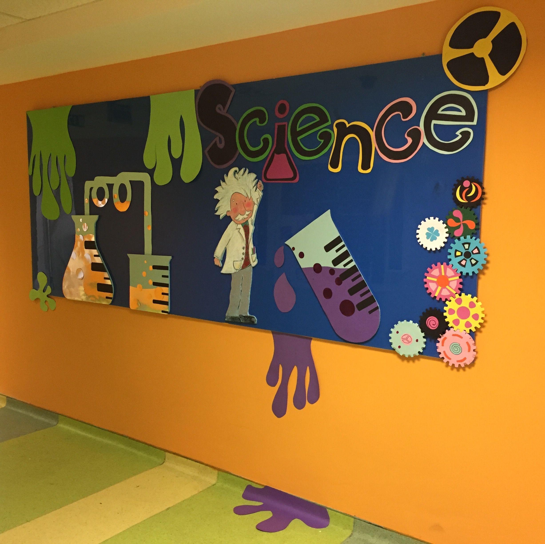 Science Bulletin Board Ideas Science Decor Science Bulletin