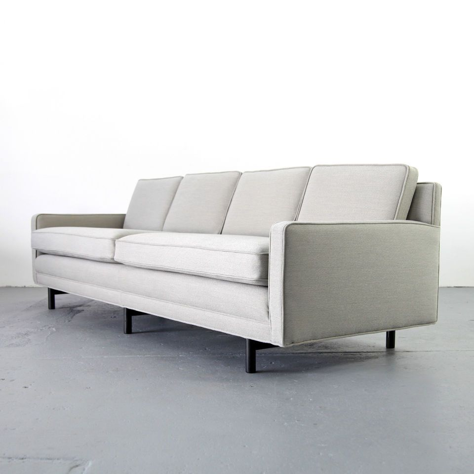 4er Couch Mid Century Modern 4-seater Sofa By Paul Mccobb For