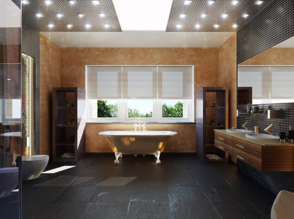 Thinking about redecorating your bathroom? Look at this dream