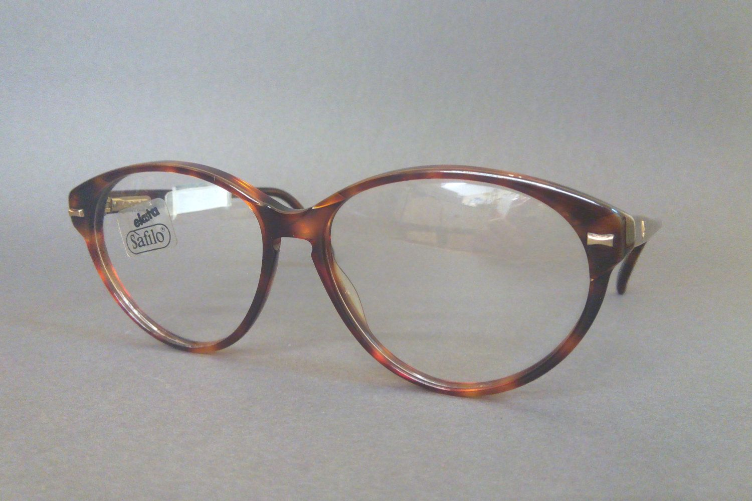 Original Vintage Safilo 90s Tortoise Cat Eye Glasses, Tortoiseshell ...