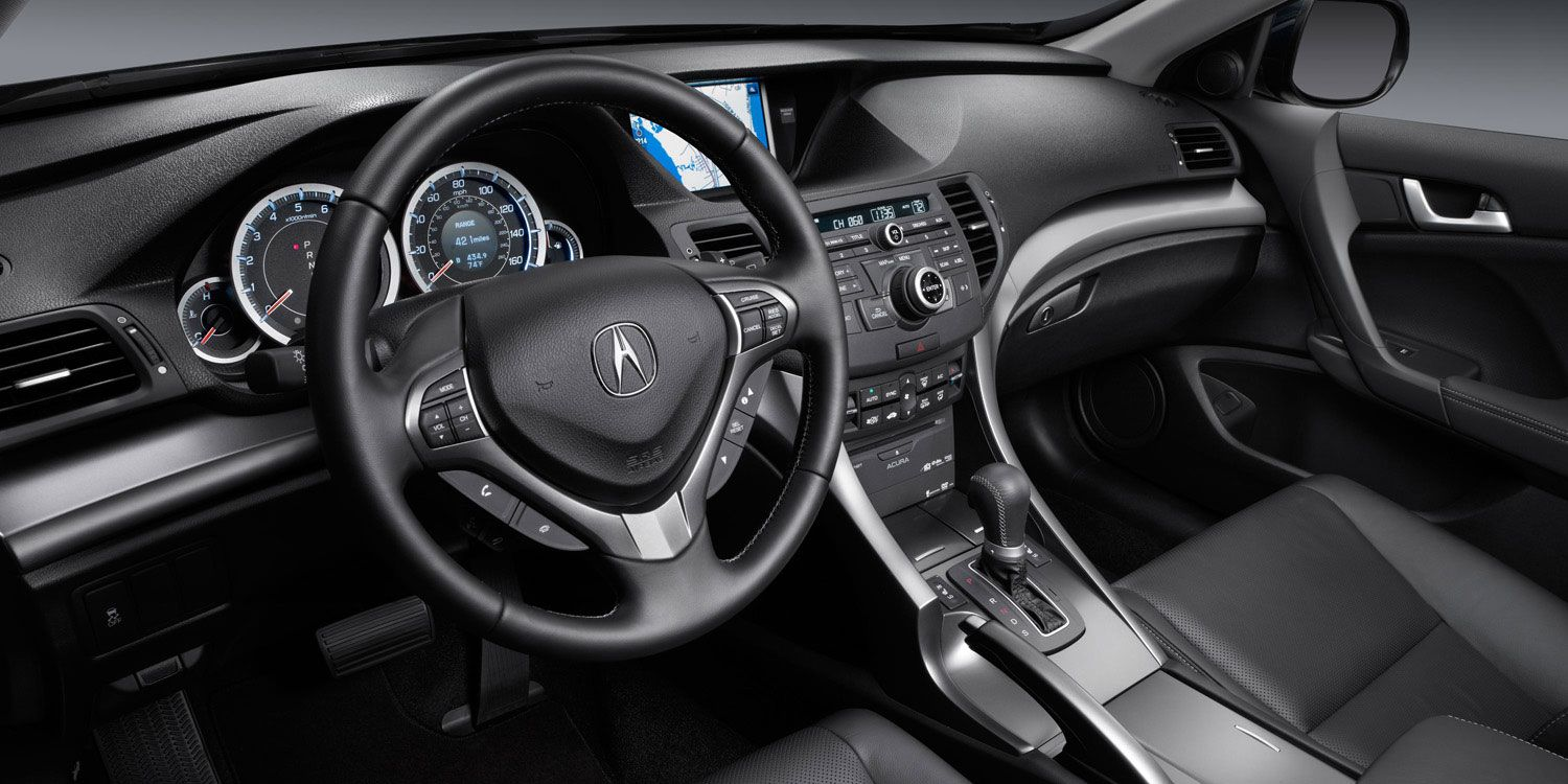 Tsx sport wagon with technology package and ebony interior