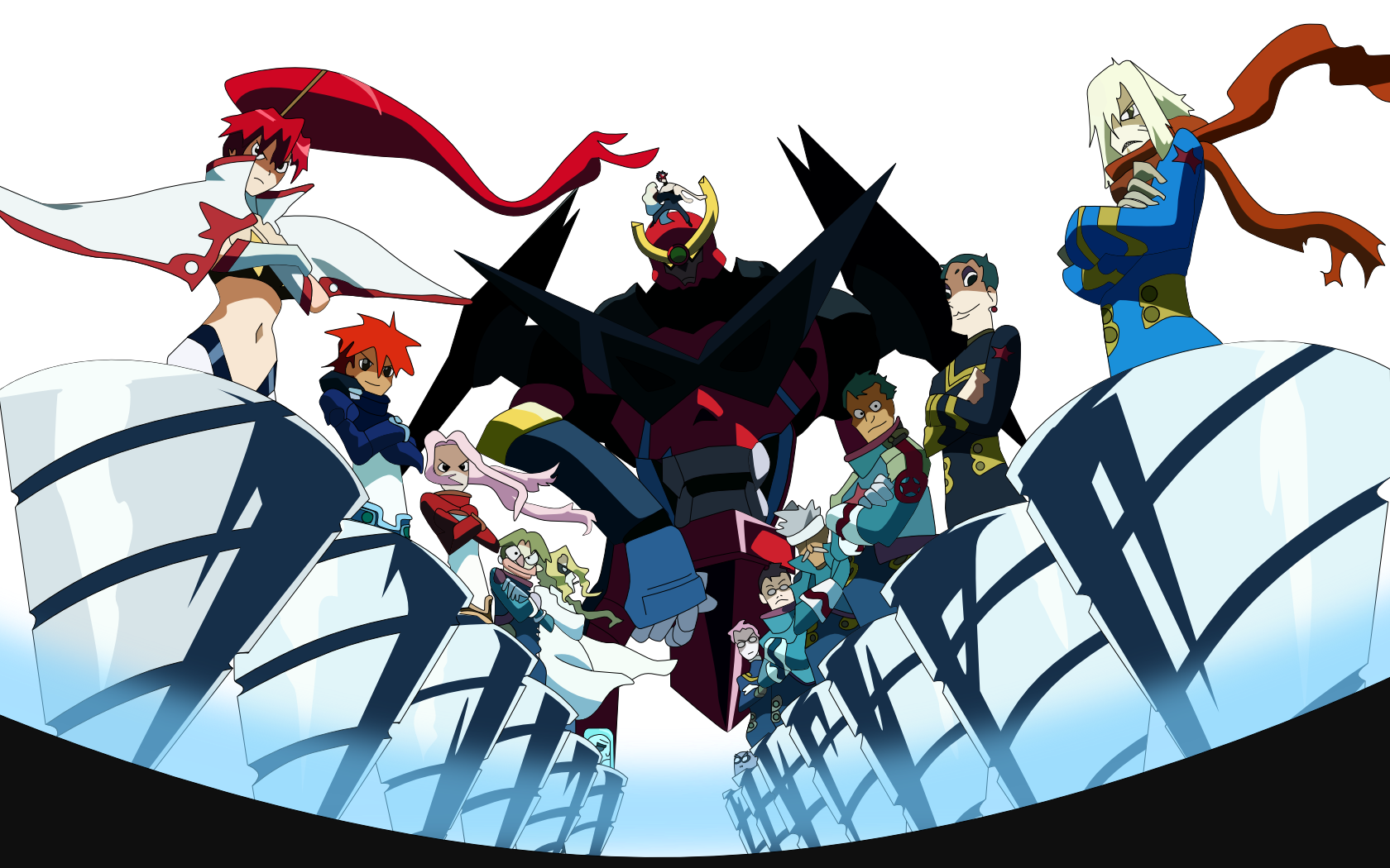 Image result for tengen toppa gurren lagann box art Anime