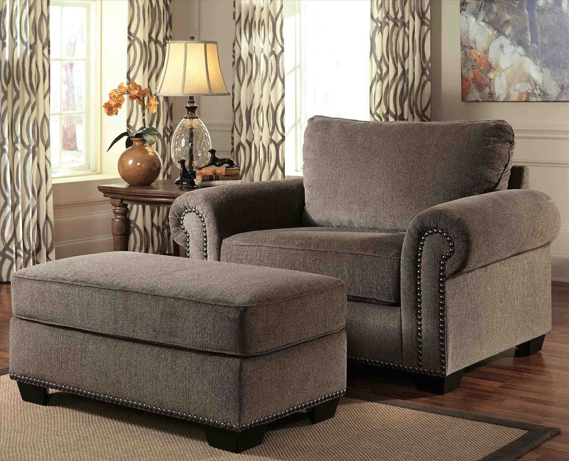 Chair And A Half With Ottoman Sale Living room chairs