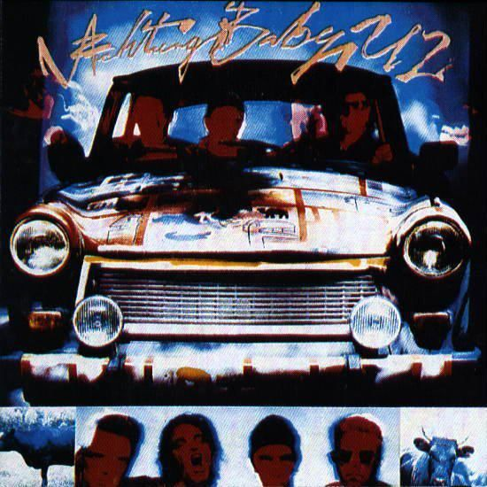 Achtung Baby Giclee Canvas Album Picture Art U2