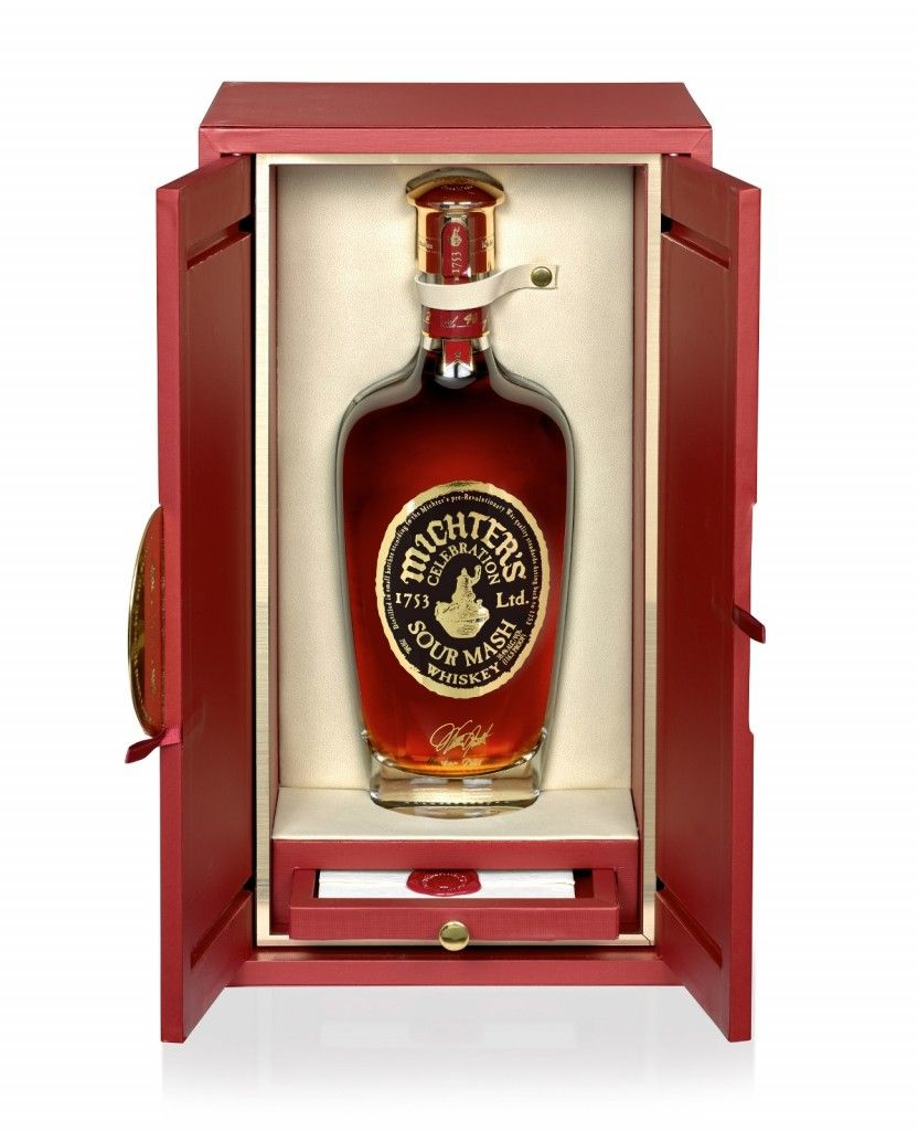 Michter S Celebration Whiskey Whisky Bottle Opener Wall