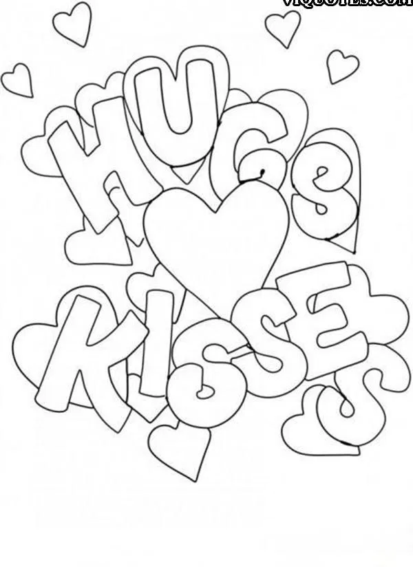 10+ Amazing Valentines Day colouring Pages To Print-Valentines