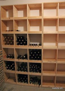 Building Wine Storage
