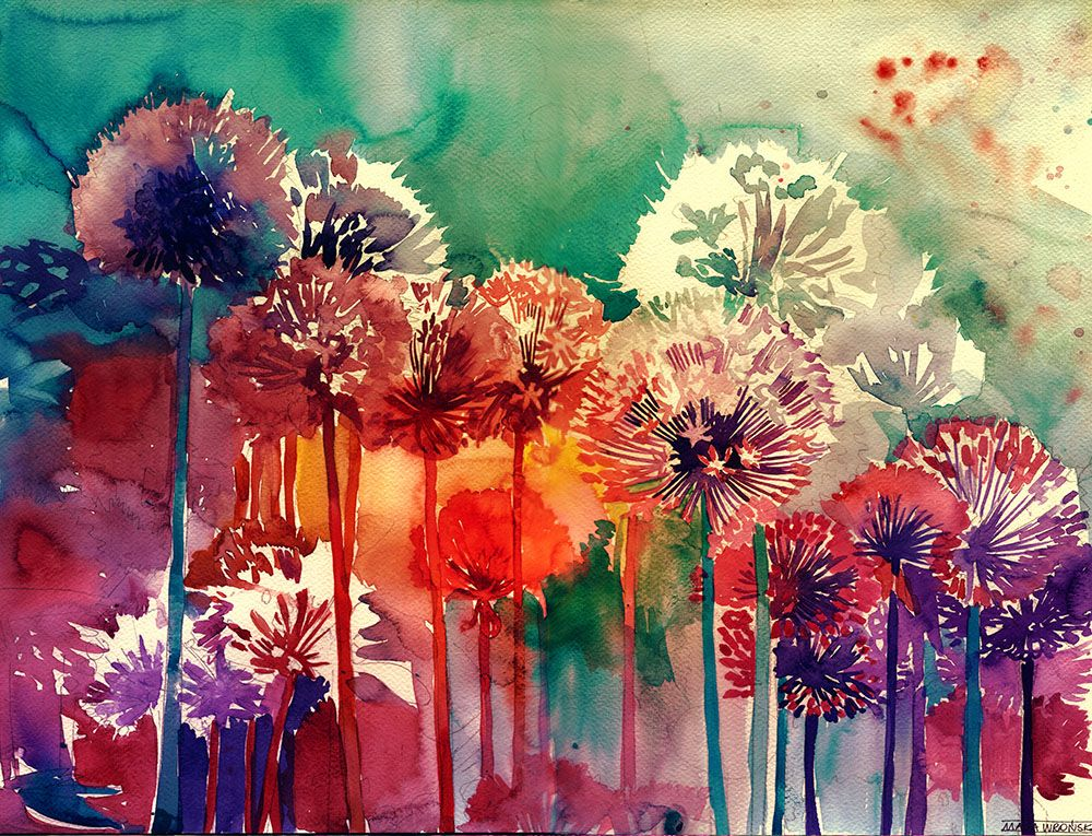 25 Beautiful Colorful Watercolor Paintings Painting Watercolor