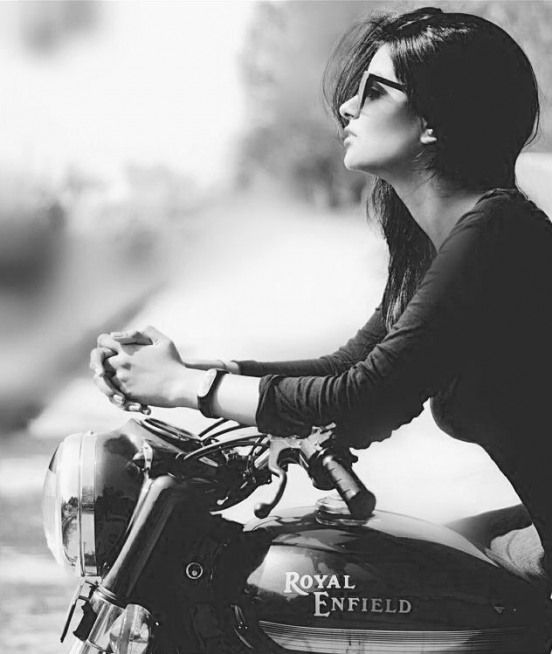 Photo of #royalenfield #royal #enfield #girl