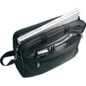 Samsonite - Classic Business 2-Gusset Laptop Briefcase - Black