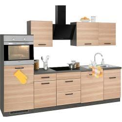 Photo of wiho Küchen Küchenzeile Esbo ohne E-Geräte Breite 280 cm Wiho Küchen