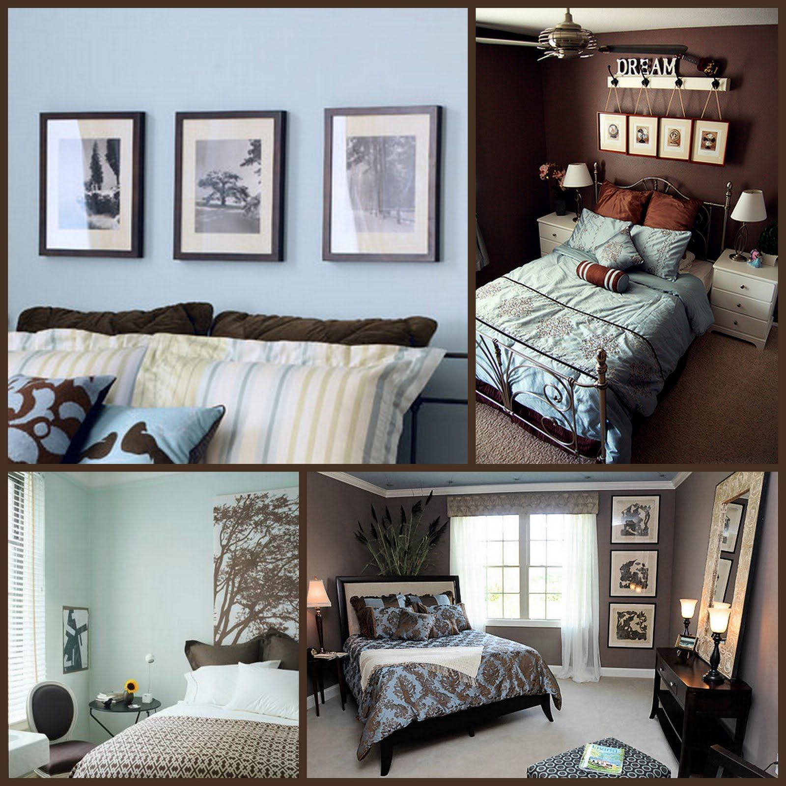 Blue and brown bedroom decor - Bedroom Decor Inspiration Brown And Duckegg Bedroom