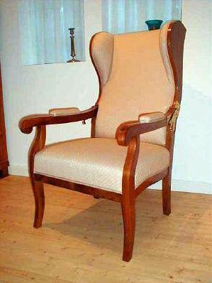 Antik Tischundtafelnachmass Ohrensessel Antike Mobel Sessel