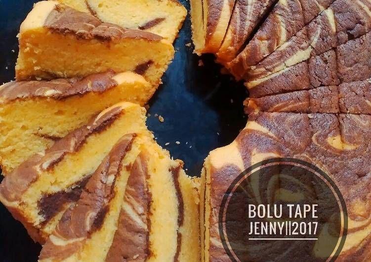 Resep Bolu Tape Lembutt No Emulsifier Recomended Oleh Jenny Resep Resep Makanan Dan Minuman Makanan Manis