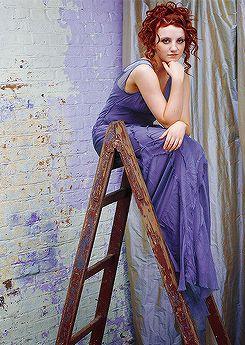 Evanna Lynch (Luna Lovegood) by Lorenzo Agius, Total Film Indonesia