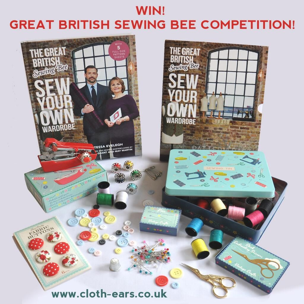 Retweet to enter our Great British Sewing Bee Competition! #GBSB @Glenda Hawkins #GBSBcomp2 #competition #sewingbee pic.twitter.com/zxKzV7Wwjz