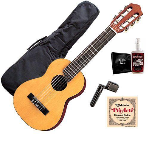 save 10 order now yamaha gl1 guitalele guitar bundle w gig bag strings best acoustic. Black Bedroom Furniture Sets. Home Design Ideas
