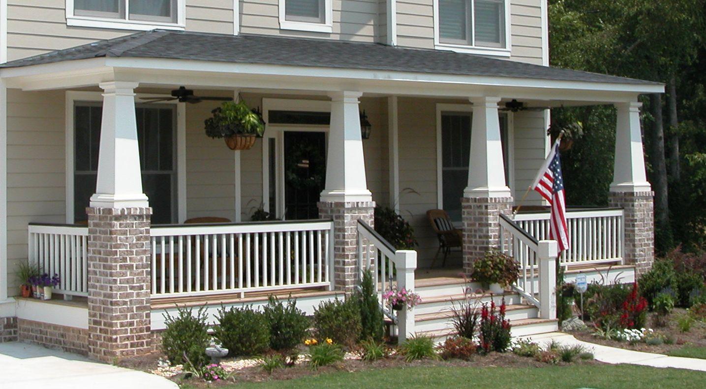 Fiberglass Columns by Melton Classics   Craftsman porch ...