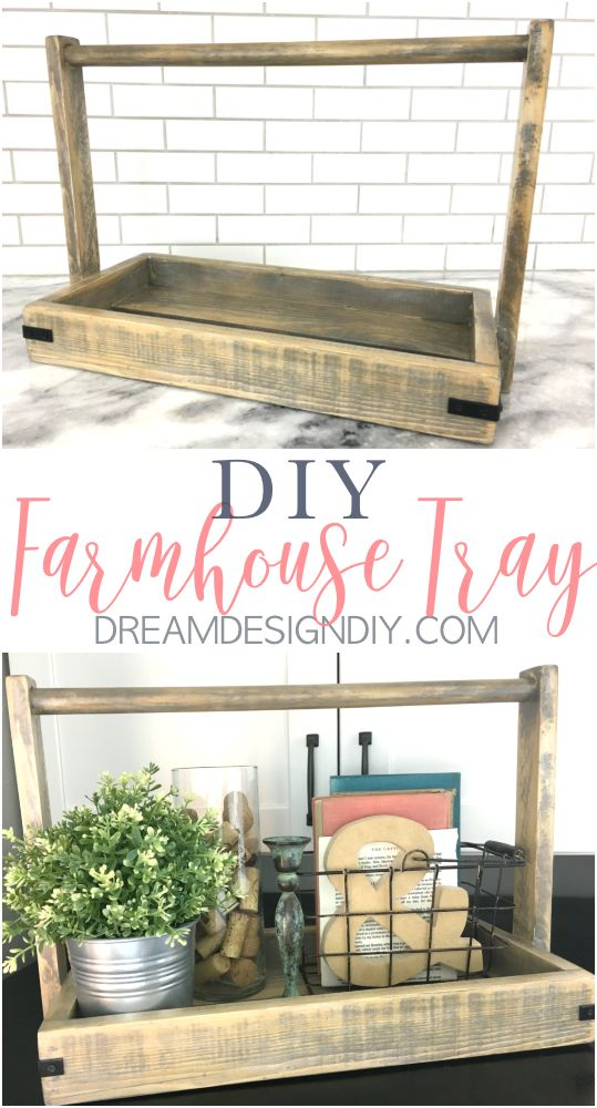 Photo of How to Build a Modern Farmhouse Wood Tray