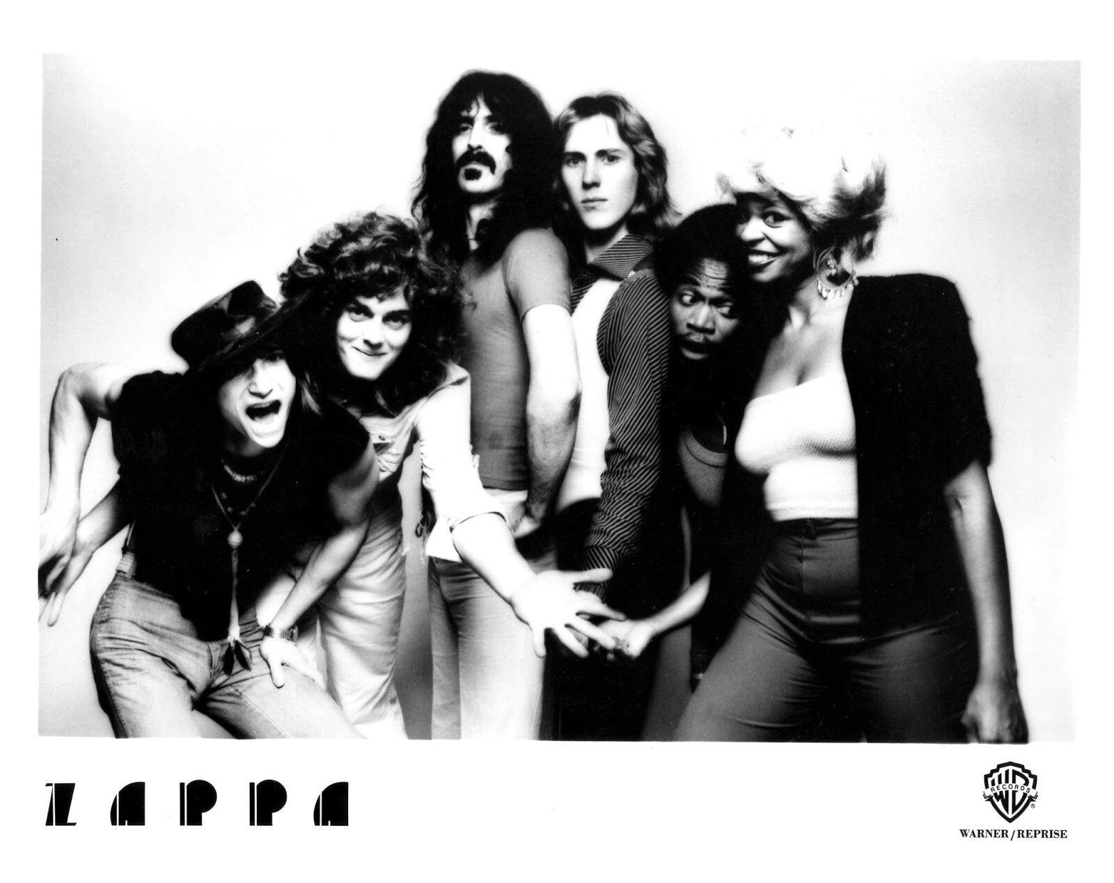 Frank Zappa Happy Birthday intended for terry bozzio, patrick o'hern, eddie jobson frank zappa band 1976
