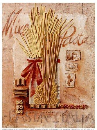 Mixed Pasta Fine-Art Print by Sonia Svenson at FulcrumGallery.com