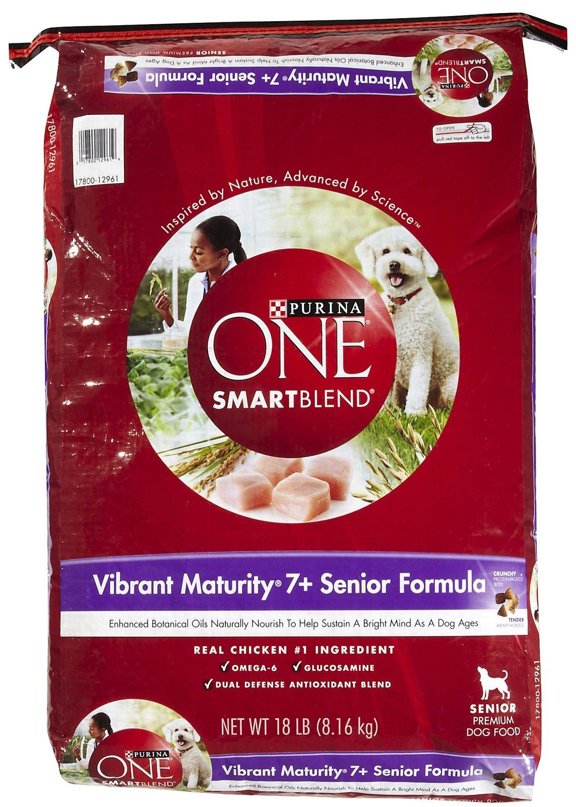 Purina One Senior Dry Dog Food 18lb Learn More By Visiting The