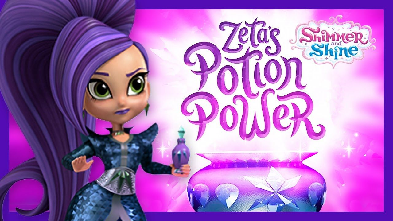shimmer and shine zeta potion power for kids games channel