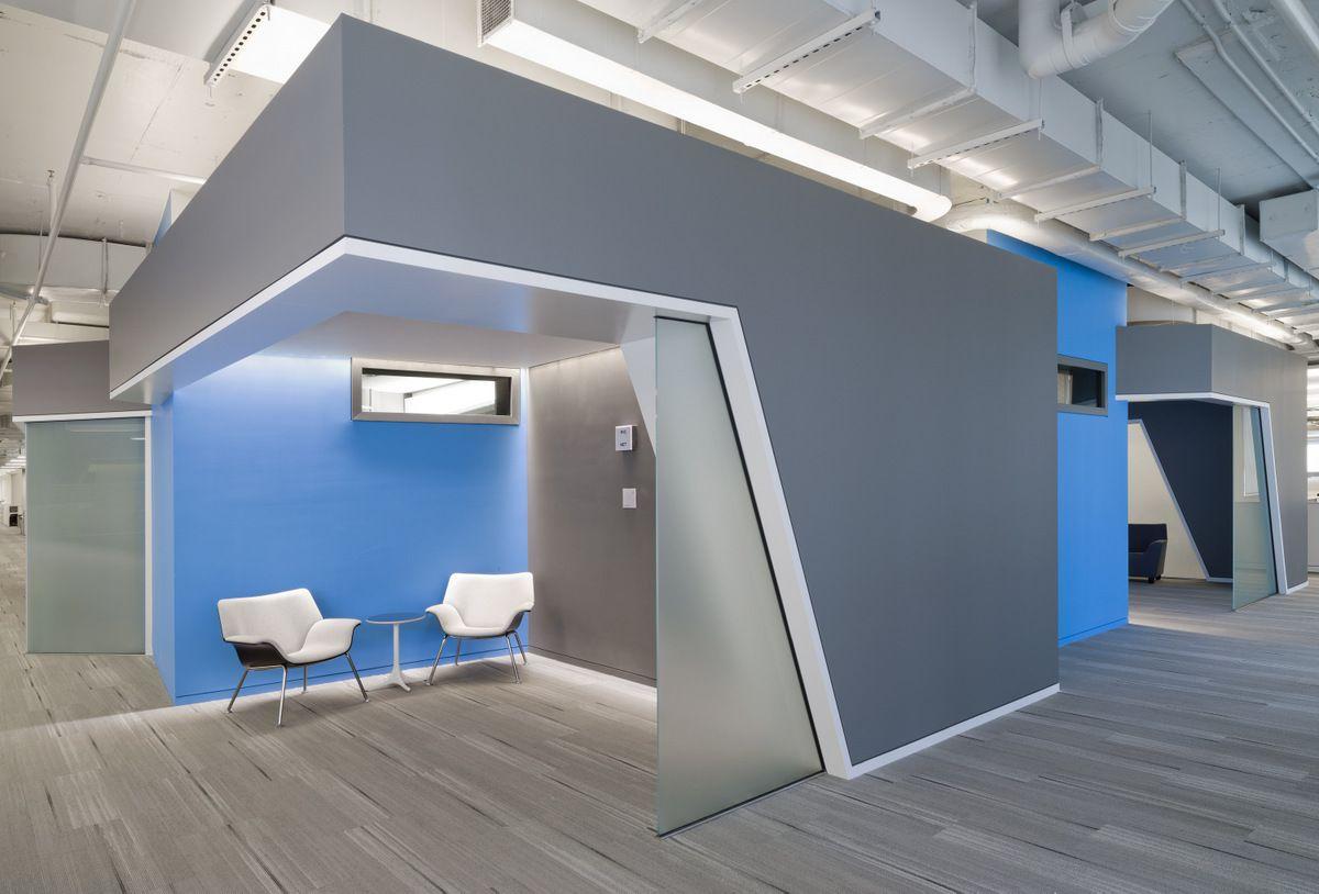 Inside nprs washington dc headquarters hickok cole for Interior home designers and washington dc