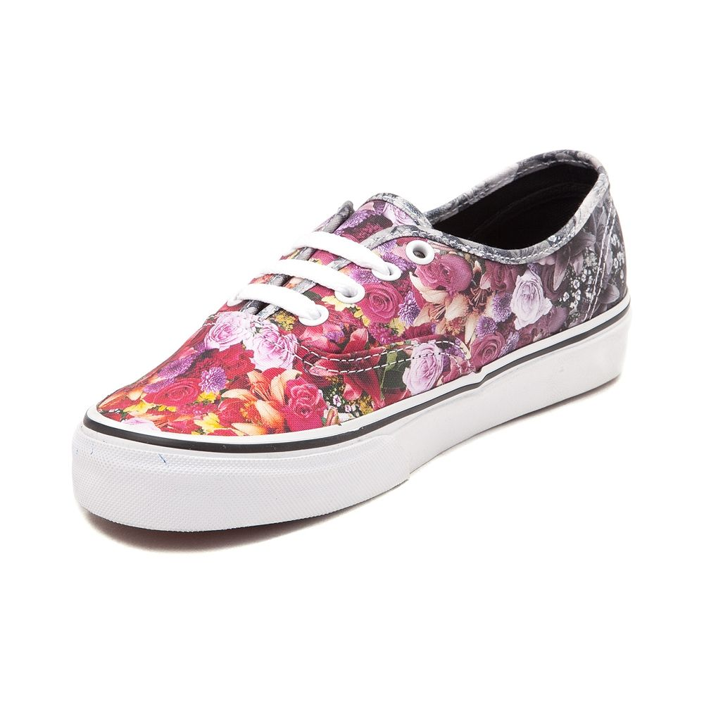 I Stroked Flowers And Butterflies Women's Casual Shoes Skateboard Slip On New Designer
