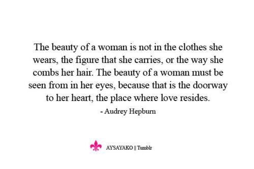 Audrey Hepburn Beauty Discrimination Quotes True Beauty Her Hair