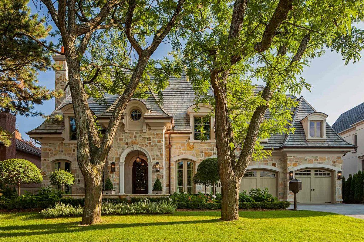 Image Custom Homes French Style Makow Architects 001 Jpg From The French Style Gallery Exterior House Colors French Style Homes French Country Exterior