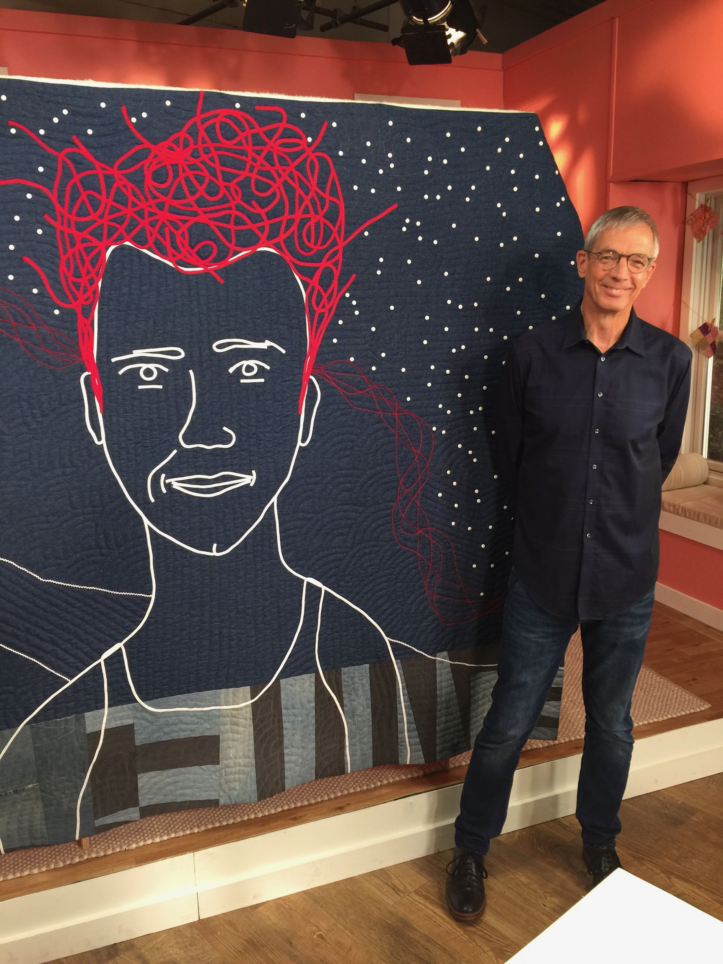 Joe Cunningham Guest On Quilting Arts Tv Series 2300 Qatv