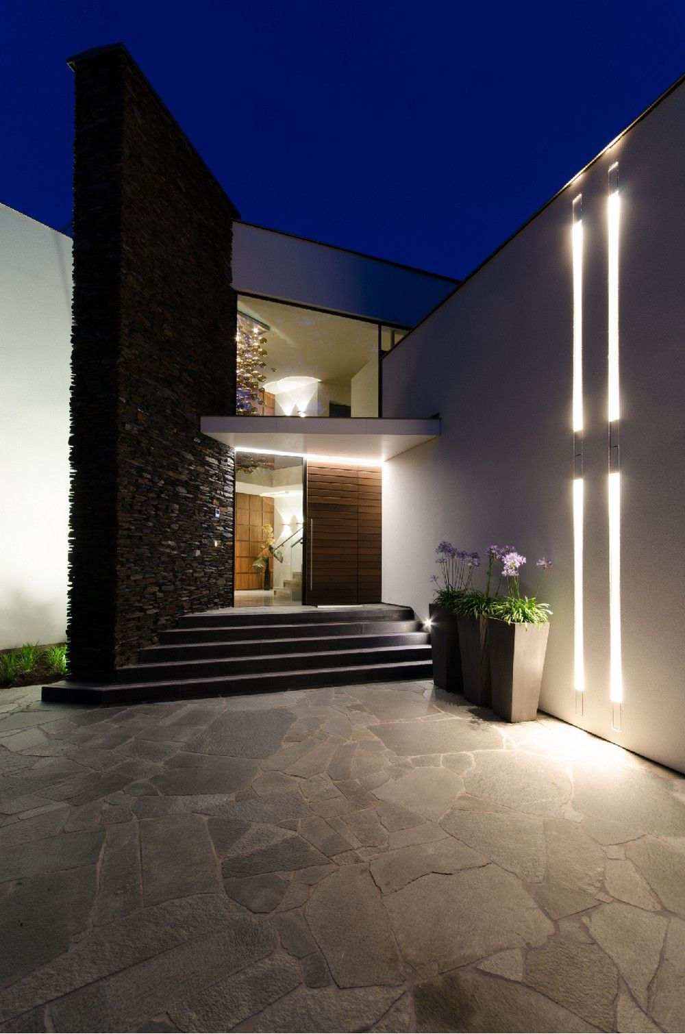 Modern Residence 63 Fusion Of Lighting Design And Architecture Villa Noord Brabant