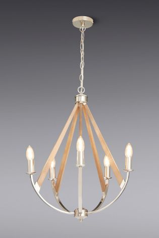 Buy newark 5 light chandelier from the next uk online shop buy newark 5 light chandelier from the next uk online shop aloadofball Image collections