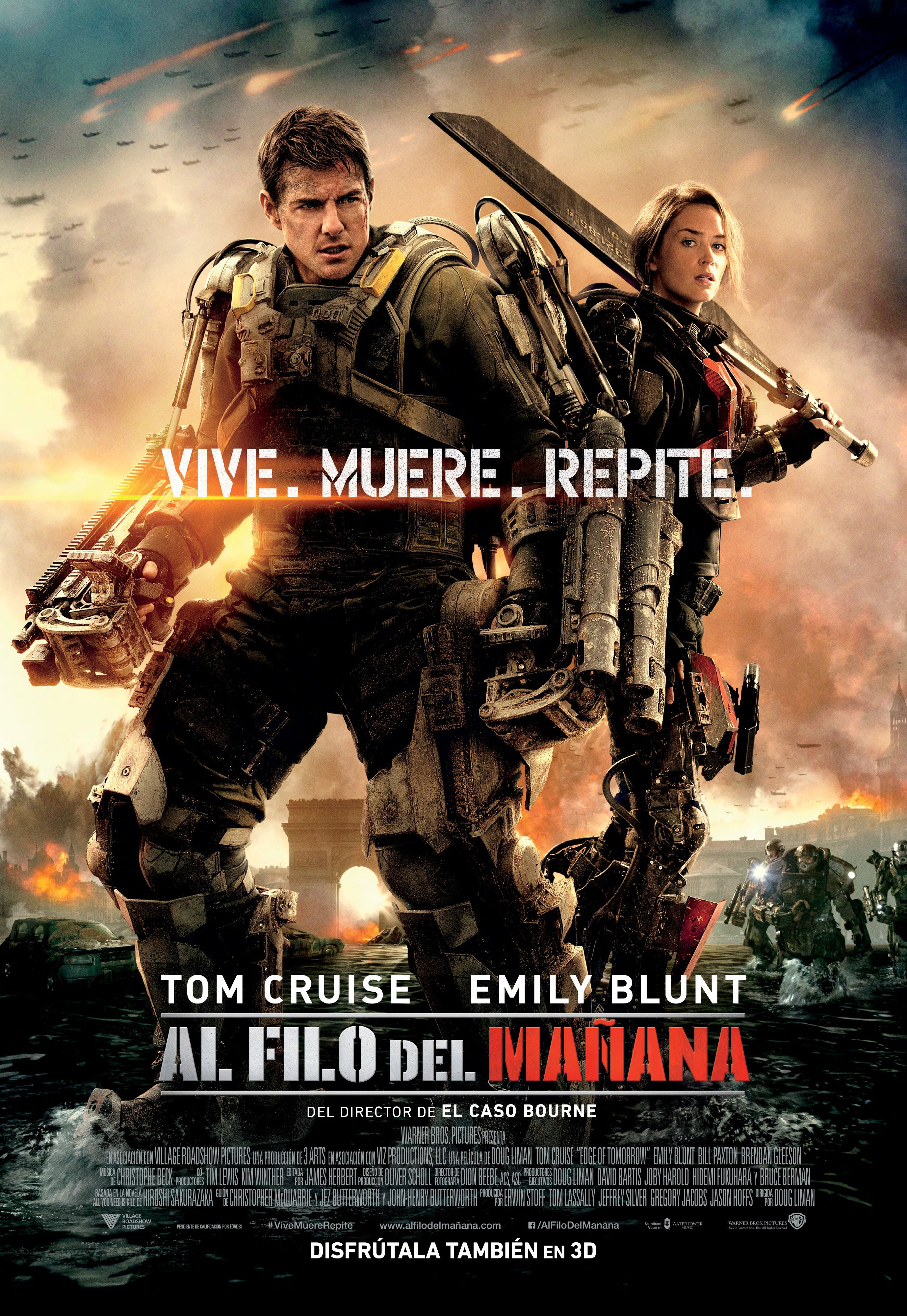 Al Filo Del Manana Edge Of Tomorrow Action Movies Tom Cruise
