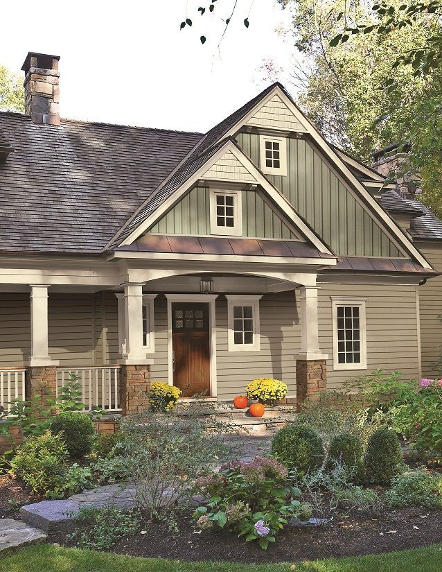 House Paint Exterior Cottage Exterior Craftsman Exterior