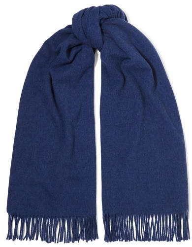 905609ce2cd Acne Studios - Canada Fringed Wool Scarf - Blue in 2019 | Products ...