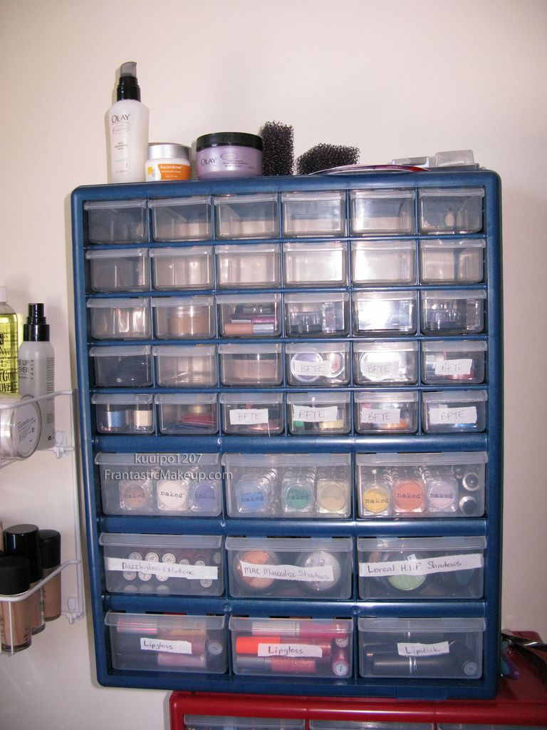 Makeup Storage Ideas... I sold Mary Kay, and have quite a bit of ...