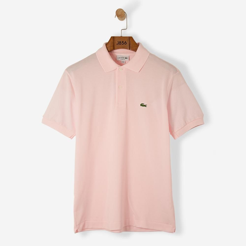 fbccb3993c24e8 Lacoste Classic Basic Logo Polo Shirt Baby Pink Free SHIPPING OVER £50.00   grants1856