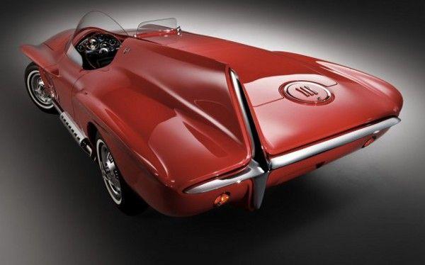 1960 Plymouth Xnr Concept Car Concept Car Design Concept Cars Car