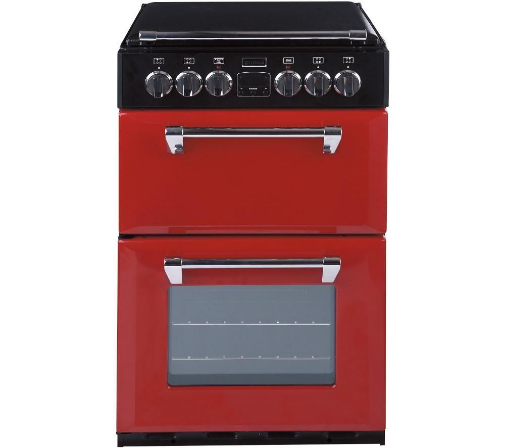 Stoves Richmond 550e Electric Ceramic Cooker Red Design Circuit