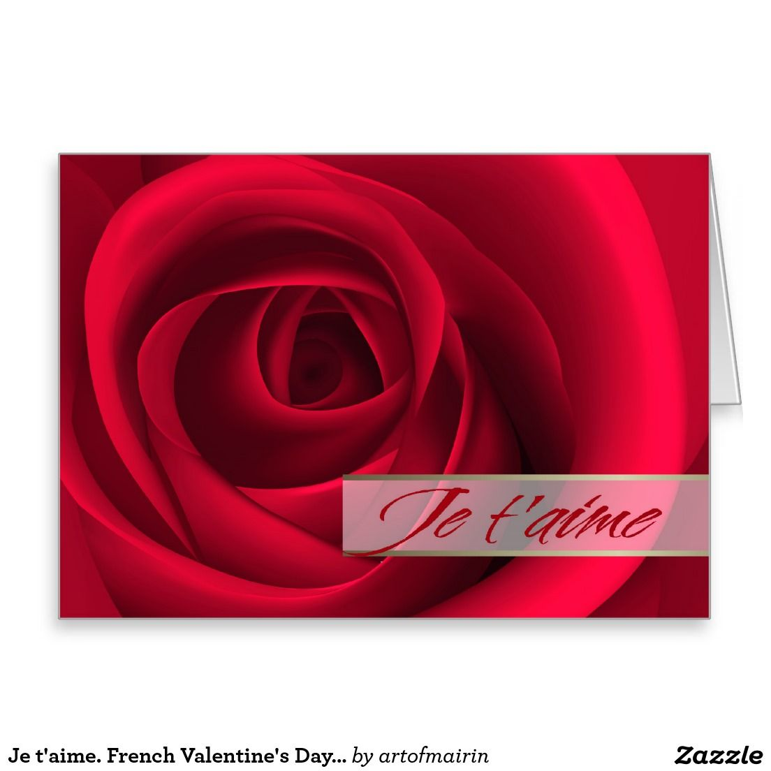 Je taime i love you in french valentines day customizable i love you in french valentines day customizable m4hsunfo