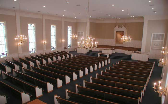 Small church sanctuary program ii joint venture for Church interior designs pictures