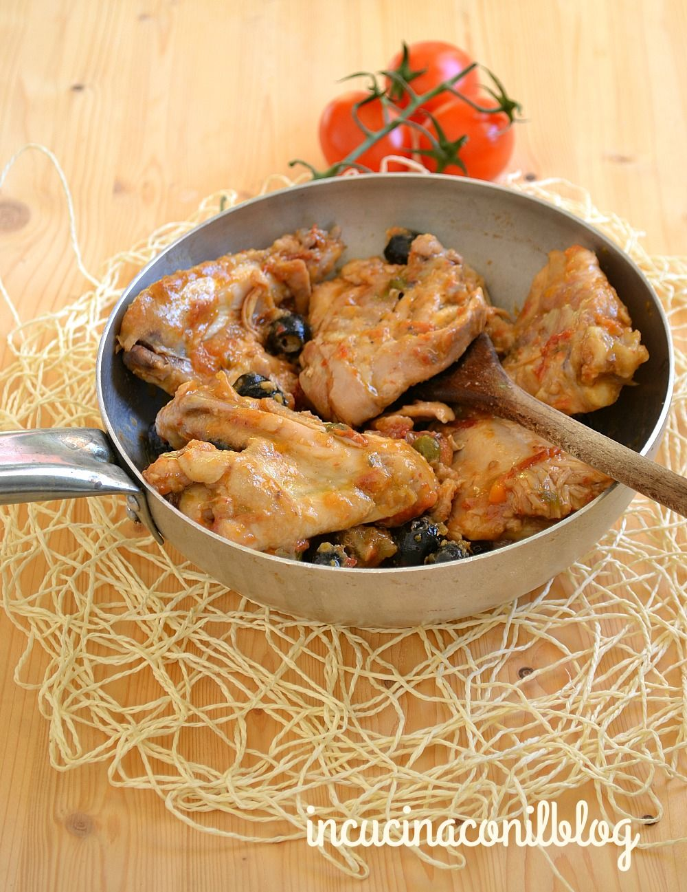 Photo of CHICKEN WITH CAPERS OLIVES AND TOMATO | In the kitchen with the blog
