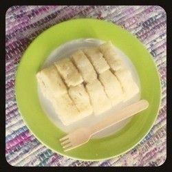 Egg-Free & Microwave-Steamed Banana Bread for Baby Food ...