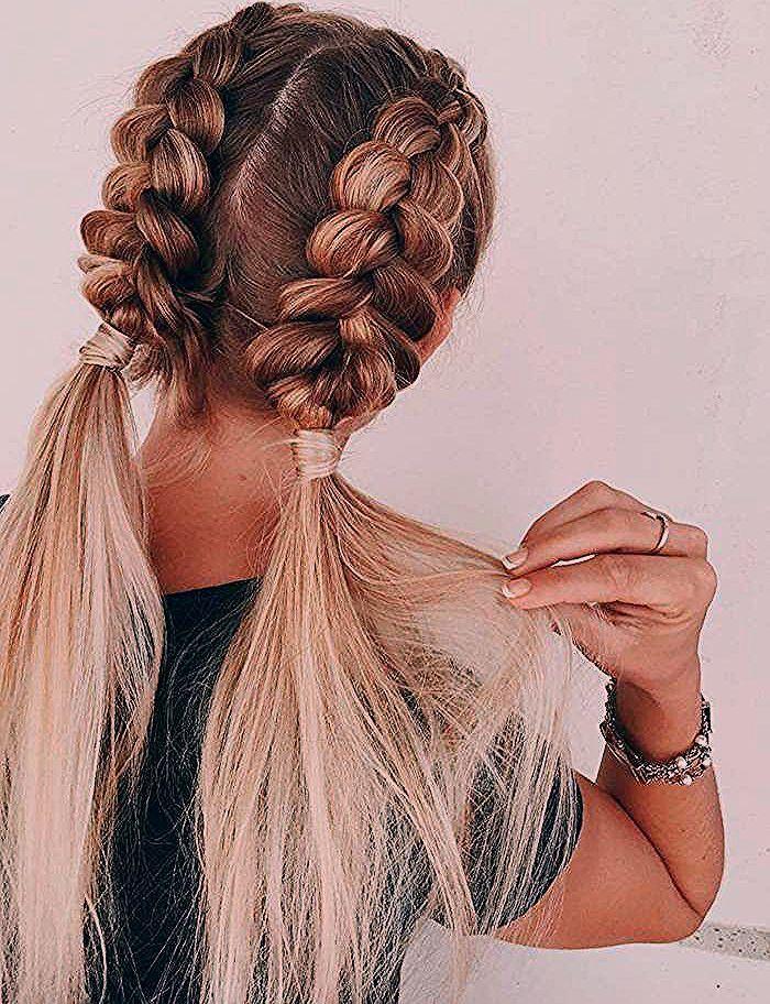 Photo of ▷ 1001 + schnelle und leichte Frisuren zum Nachstylen – Bunte Haar Diy