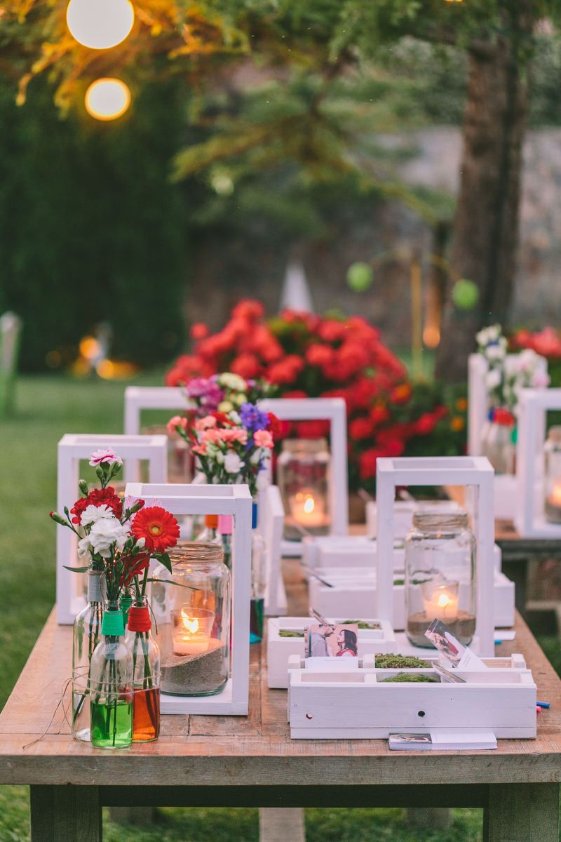 Colorful wedding Decoration ideas Find all details and