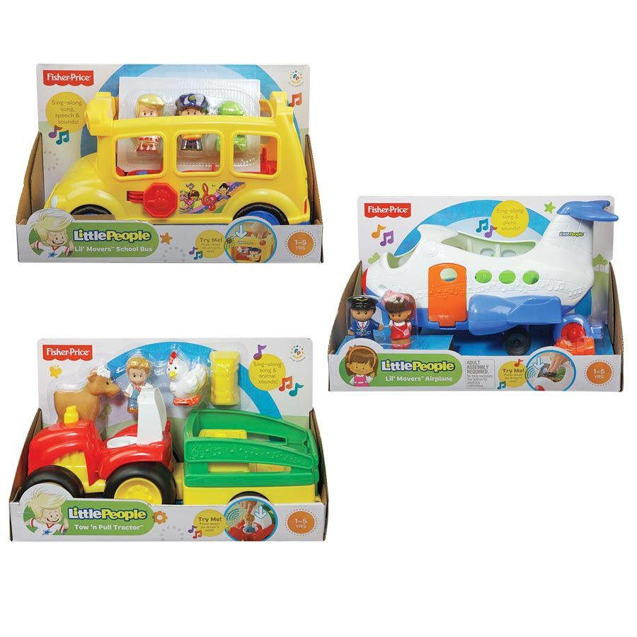 Fisher Price Little People Large Vehicle Assorted Toys