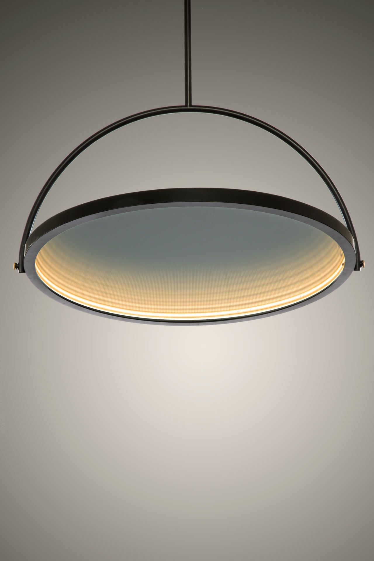 Oblio A Mirror Turned Lamp A Lamp Turned Mirror Interior Led Lights Lamp Suspension Lamp